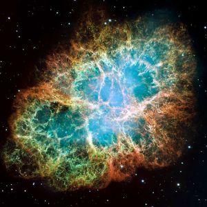 La Nebulosa Granchio è la nebulosa ssociata alla supernova SN054.