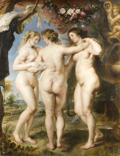 Peter Paul Rubens, Le tre grazie, Museo del Prado, Madrid