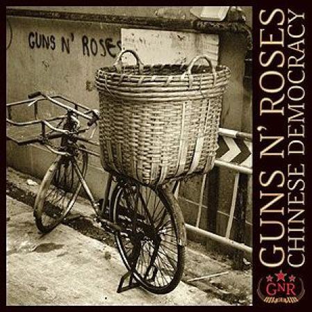 """Chinese Democrazy"" ultimo disco dei Guns N' Roses."