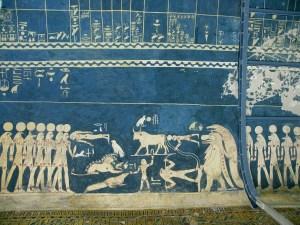 Soffitto della tomba di Seti I