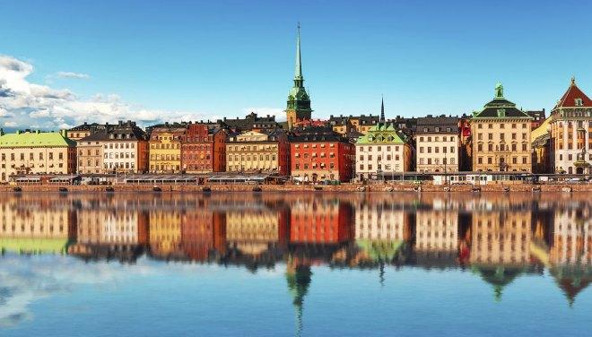 Stoccolma, capitale della Svezia.
