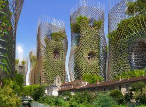 città futuristica