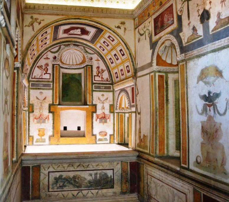 Castel Sant'Angelo, bagno di Clemente VII