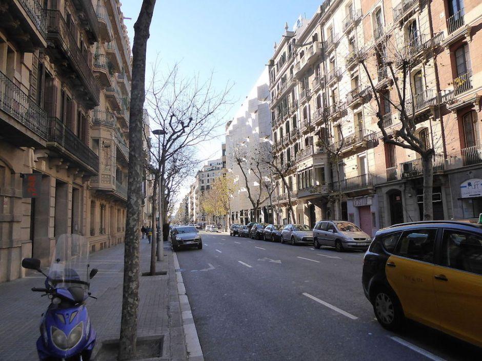 Strada barcellonese.