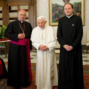 Con Papa Benedetto XVI
