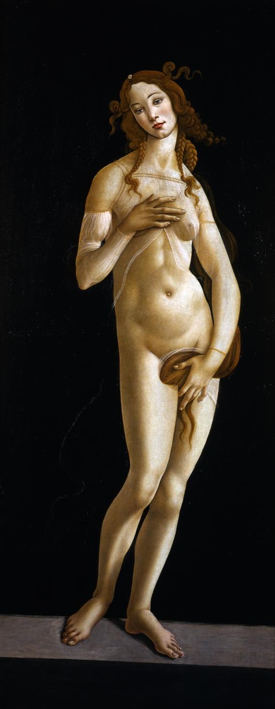 Sandro Botticelli. Venere