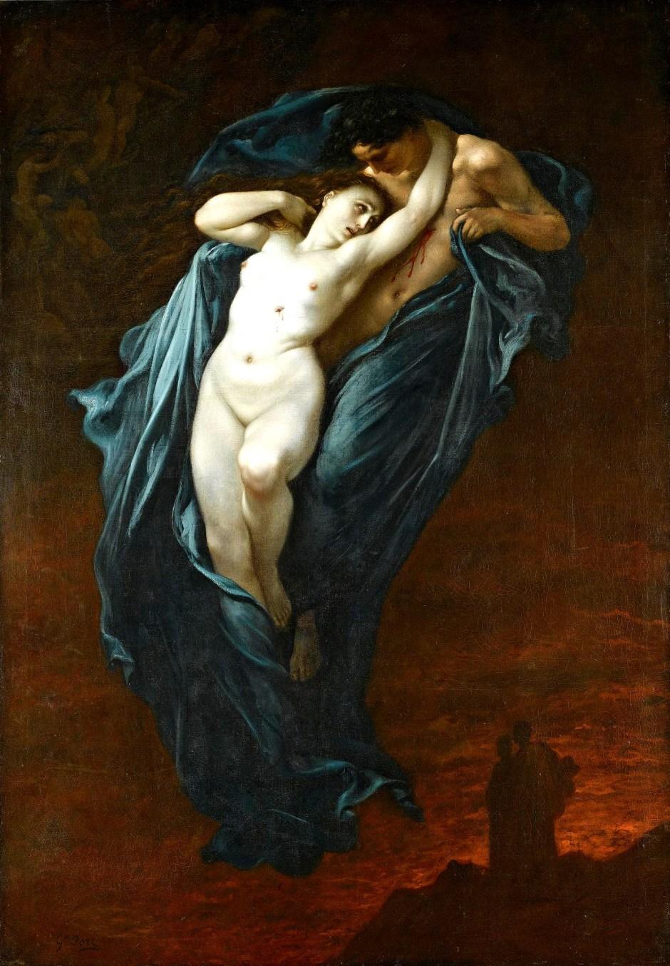 Gustave Doré. Paolo e Francesca