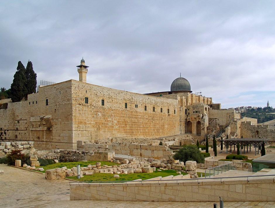 La moschea di Al Aqsa a Gerusalemme