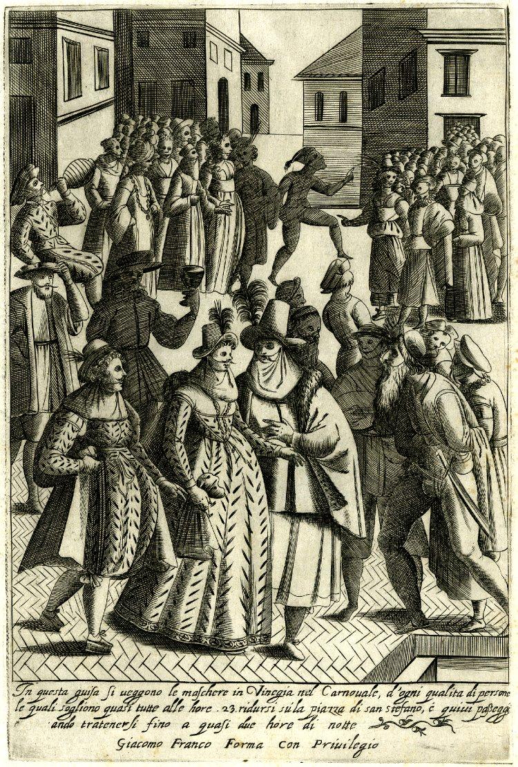 Giacomo Franco, Habiti d'uomini e donne Venetiane con la processione