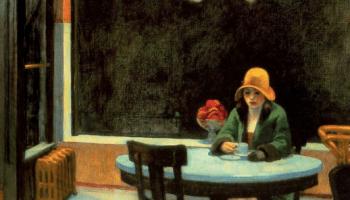 Edward Hopper, Automat, 1927