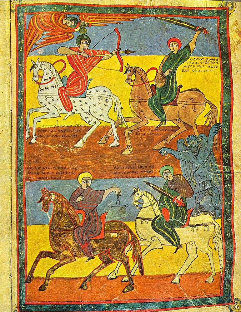 Beatus. I quattro cavalieri dell'Apocalisse