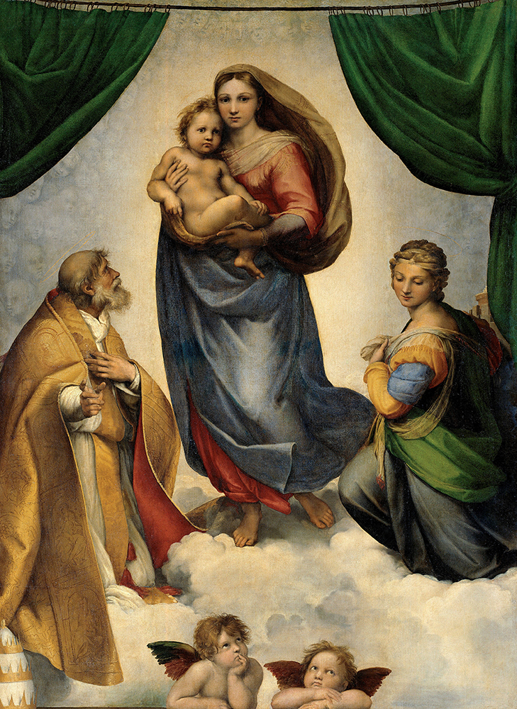 Raffaello. Madonna Sistina