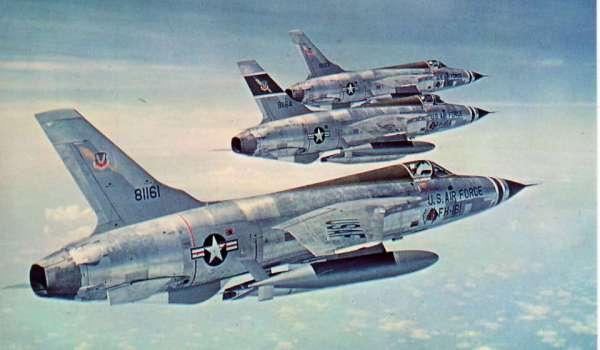F-105D Thunderchief per La battaglia del Triangolo delle Bermude