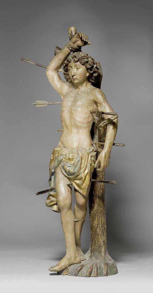 Niklaus Weckmann. Statua lignea di San Sebastiano