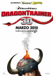 Locandina di Dragon Trainer (How to train your Dragon, DreamWorks)