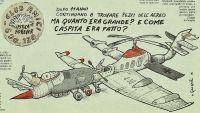 La vignetta di Ustica