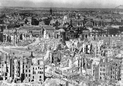 La distruzione a Dresda