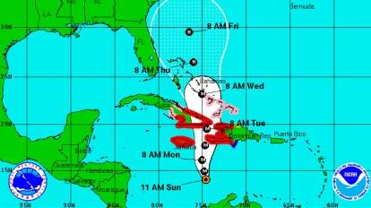 Photo credit: National Hurricane Center