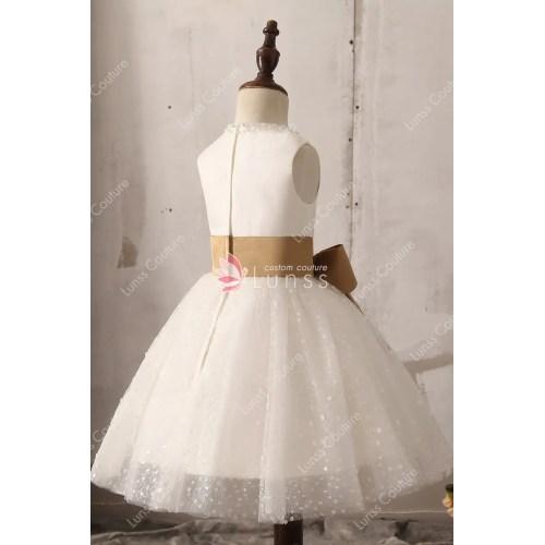 Medium Crop Of Lace Flower Girl Dresses