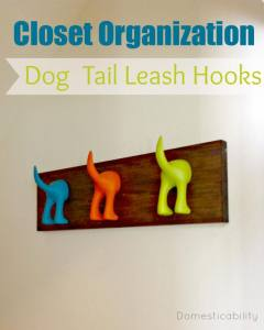 Organized Dog Leashes