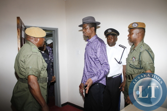 Zambia edgar lungu visit to misisi and chawama in pictures for Police tours