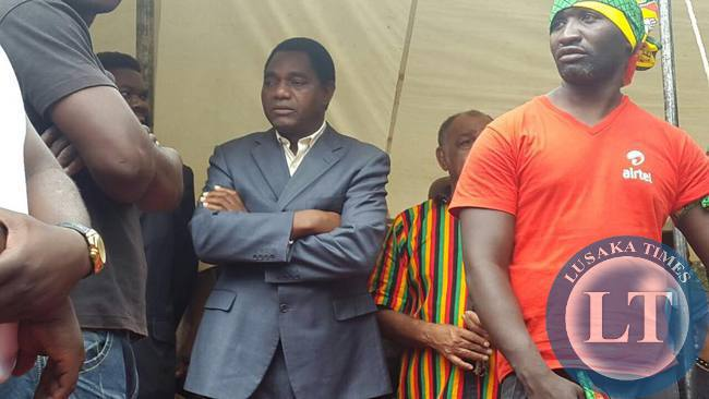 Police search HH's house and UPND Secretariat