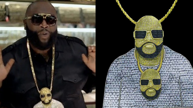 Rick-Ross-Chaine-Rick-Ross-Or-Diamant