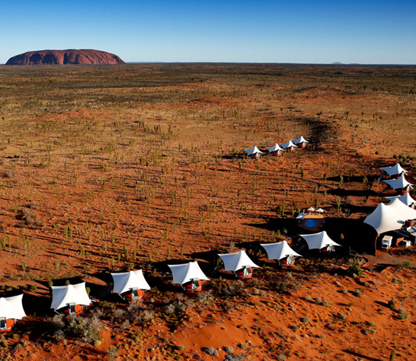 Ayers Rock Accommodation Longitude 131°