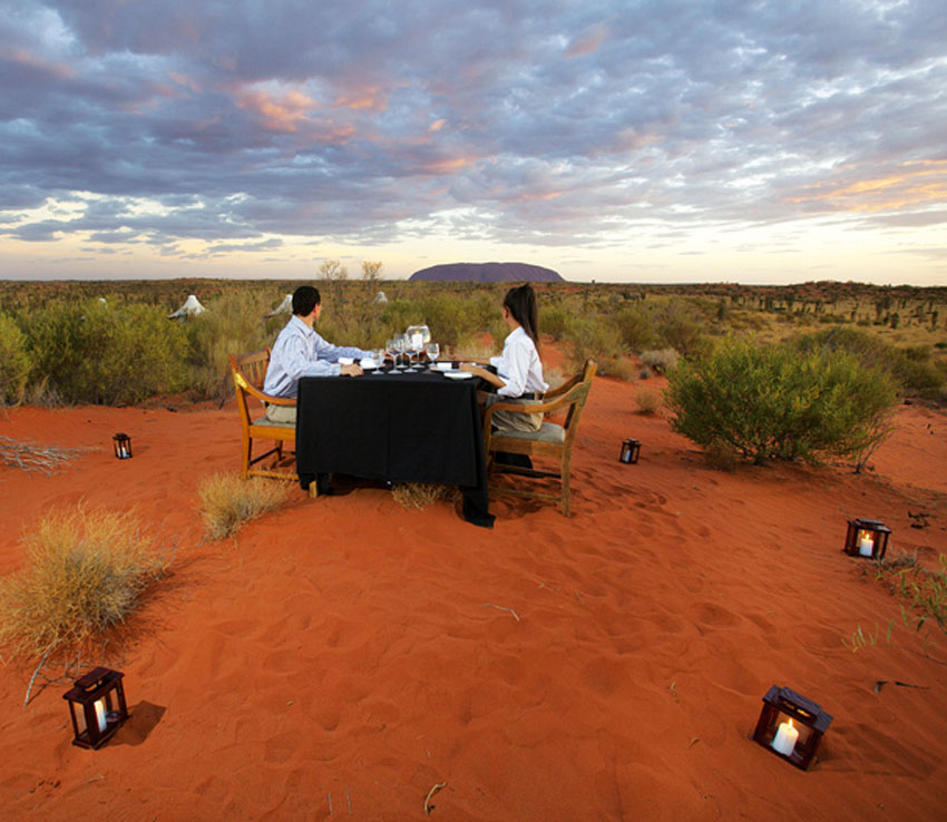 Ayers Rock Accommodation Longitude 131° 2
