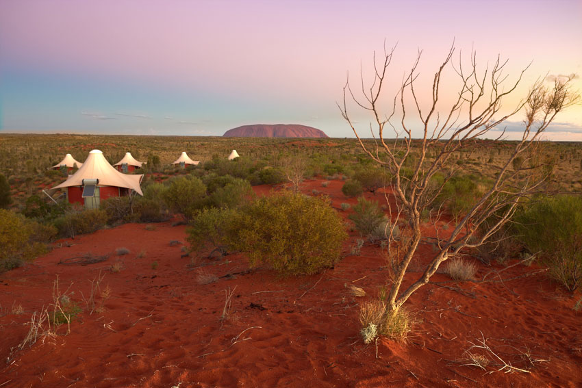 Ayers Rock Accommodation Longitude 131° 5