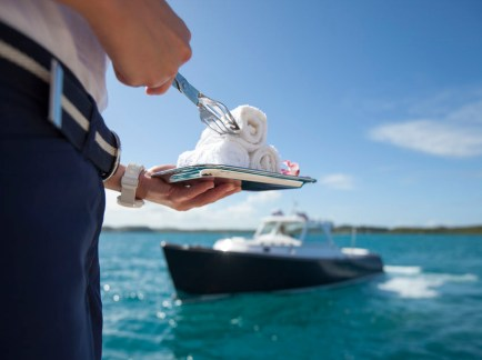 Crew on a Superyacht Charter