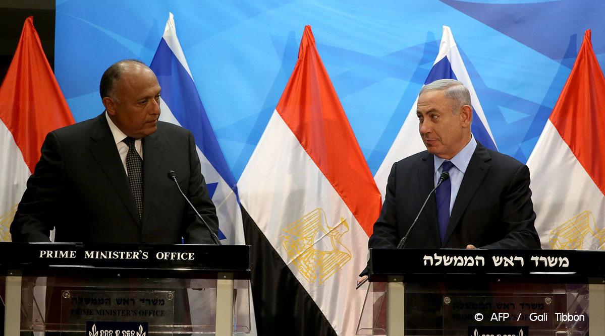 Israël: Netanyahu reçoit le chef de la diplomatie égyptienne