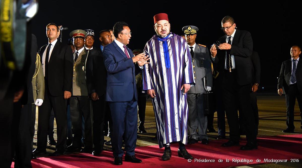 SM le Roi à Antananarivo pour une visite officielle à Madagascar