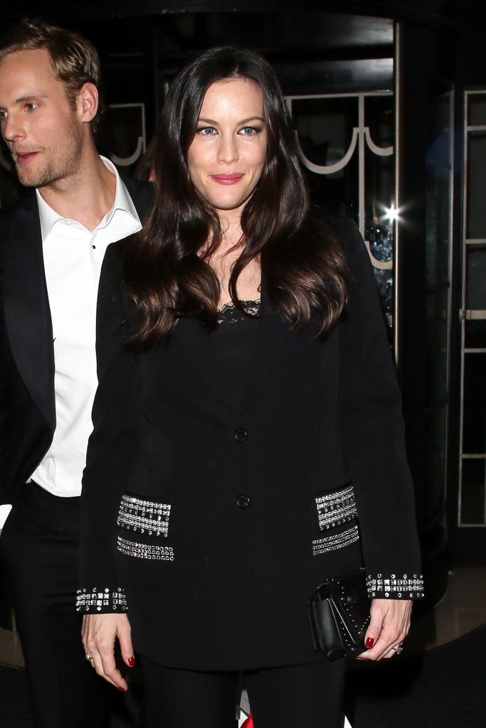 Liv Tyler in Givenchy by Riccardo Tisci