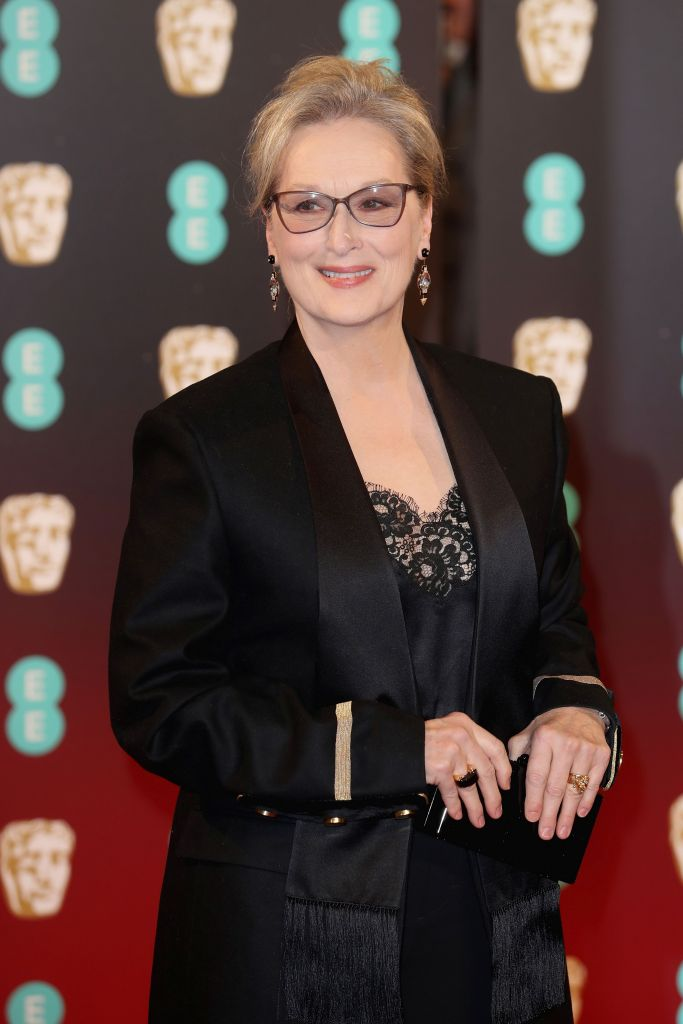 Meryl Streep in Givenchy by Riccardo Tisci – 70th Annual BAFTA Awards