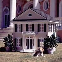 Maßgeschneiderte Luxus-Hundehütten