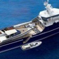 Sea Axe FYS: Versorgungsschiff für Luxus-Yachten