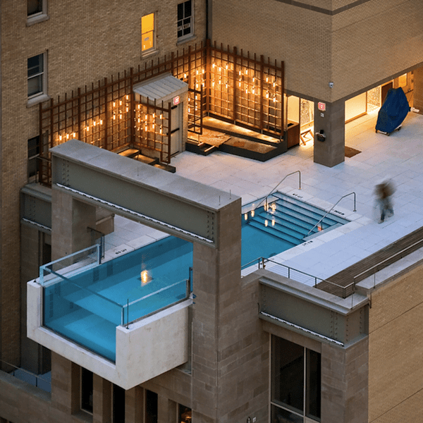 Rooftop Pool Joule Hotel Dallas