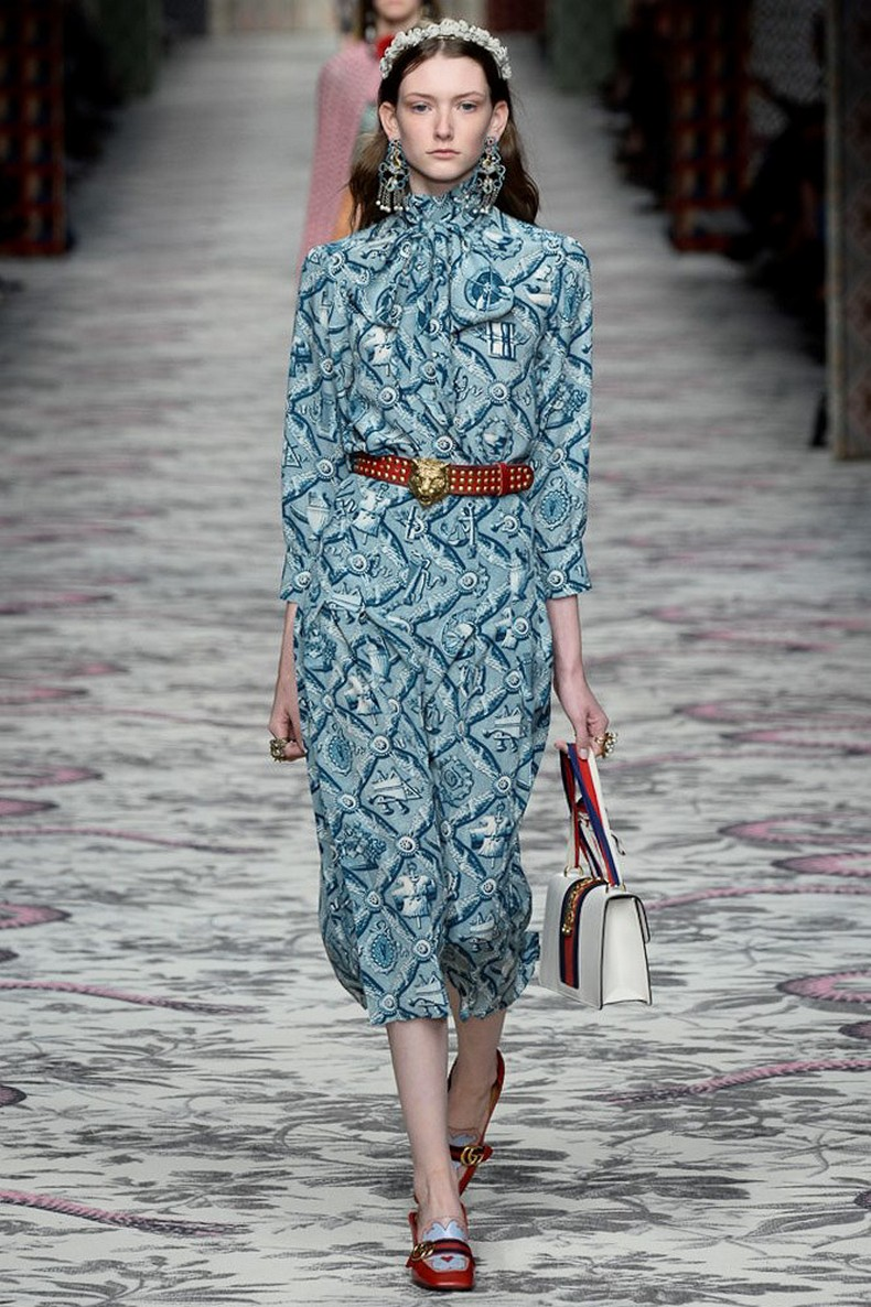 Gucci Spring 2016 RTW Collection look 14