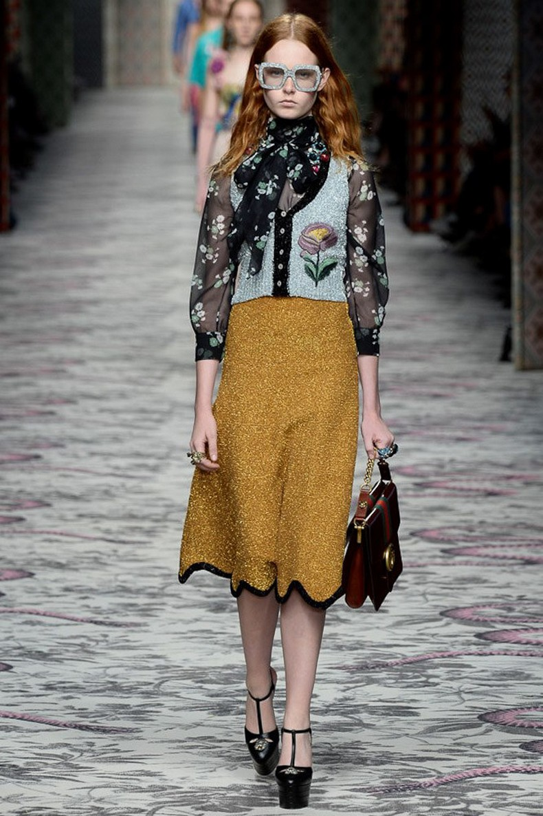 Gucci Spring 2016 RTW Collection look 16