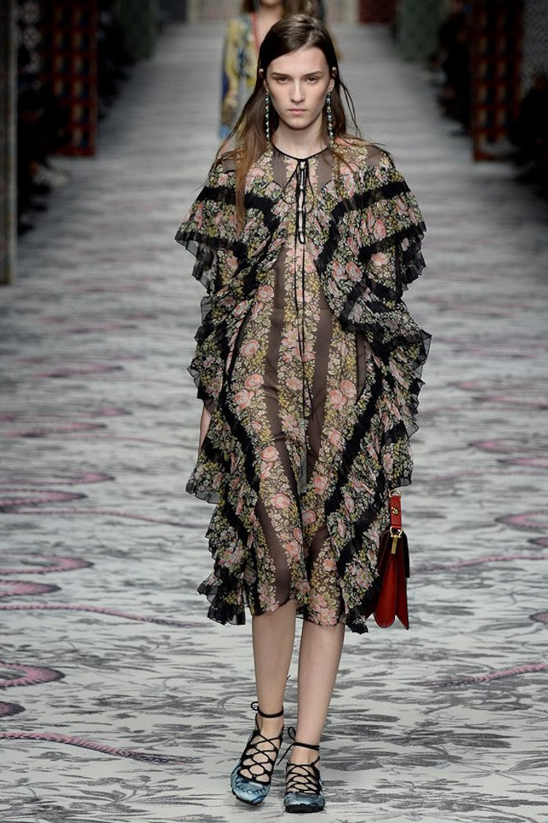 Gucci Spring 2016 RTW Collection look 3