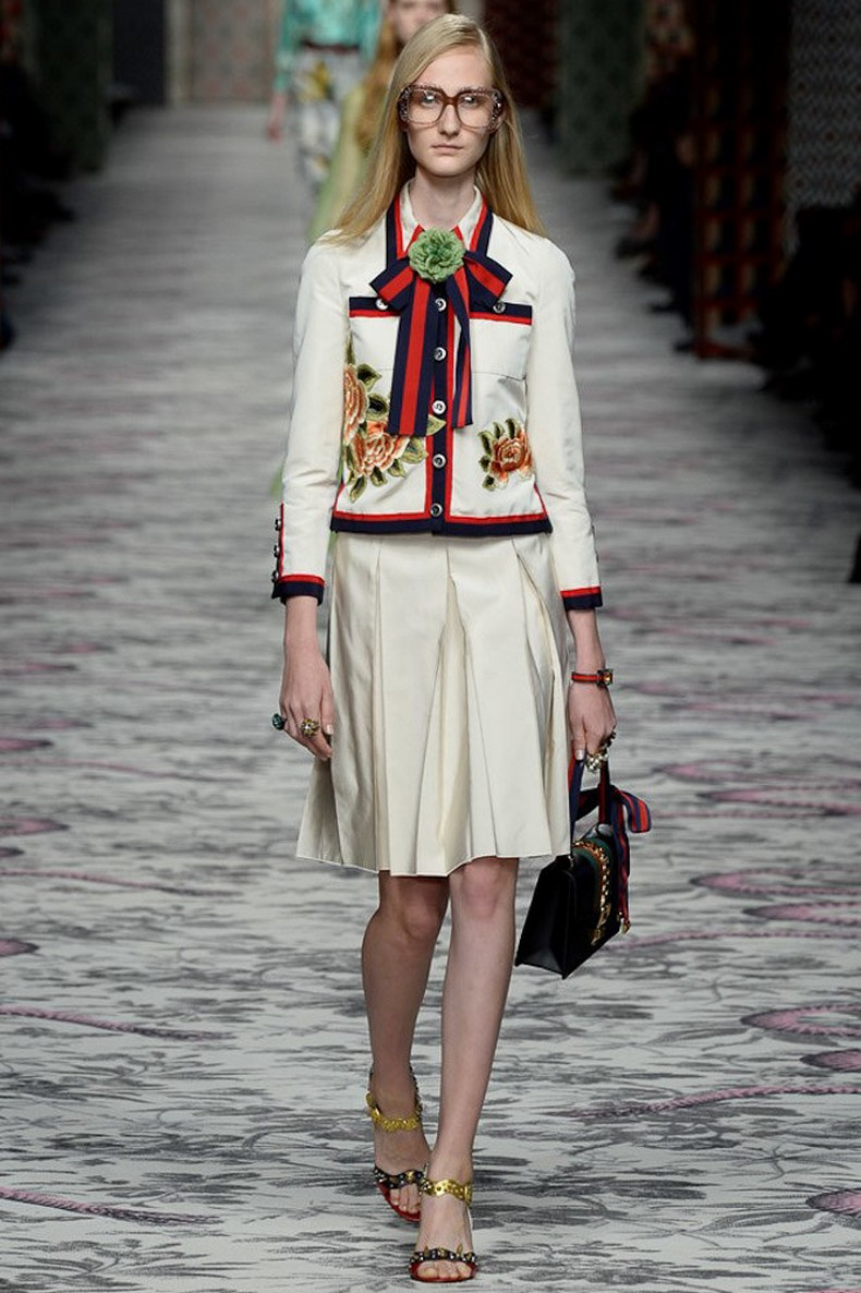Gucci Spring 2016 RTW Collection look 34