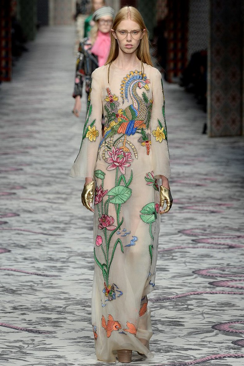 Gucci Spring 2016 RTW Collection look 37