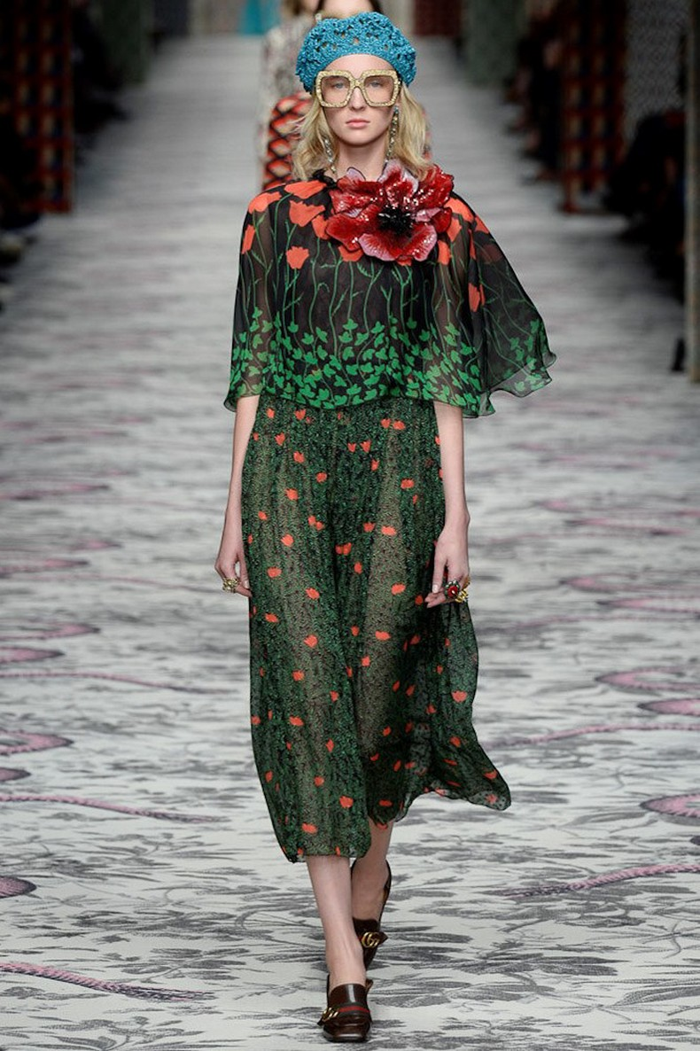 Gucci Spring 2016 RTW Collection look 43