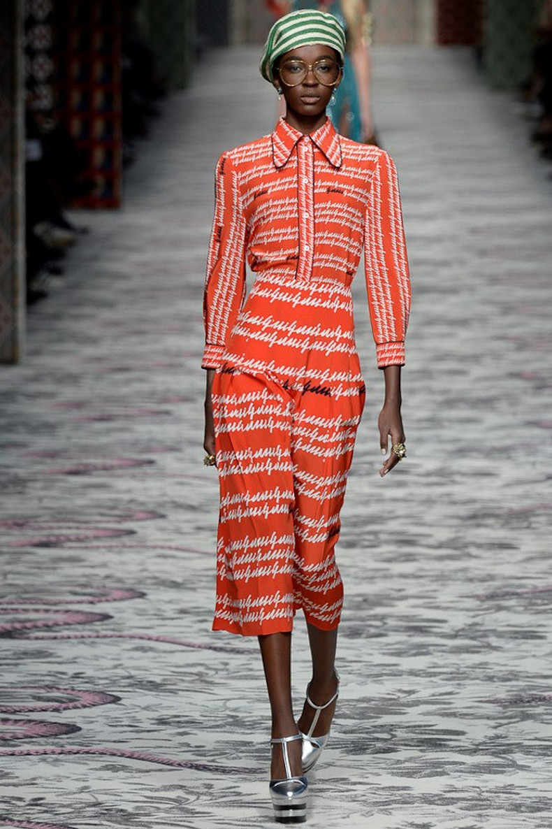 Gucci Spring 2016 RTW Collection look 7