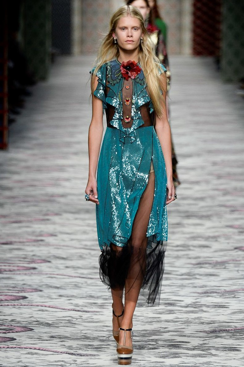 Gucci Spring 2016 RTW Collection look 8