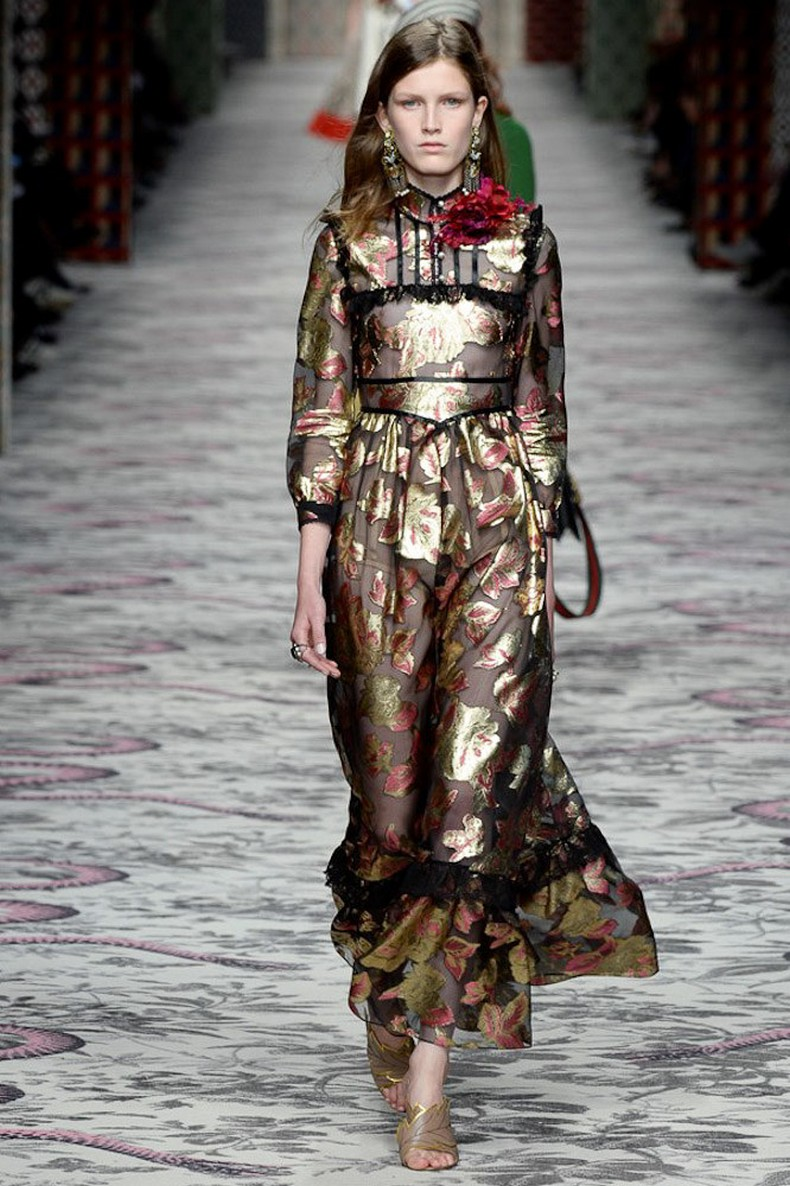 Gucci Spring 2016 RTW Collection look 9