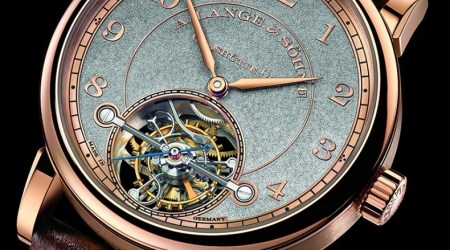 Super limited edition of A. Lange & Söhne 1815 Tourbillon Handwerkskunst Watch 1