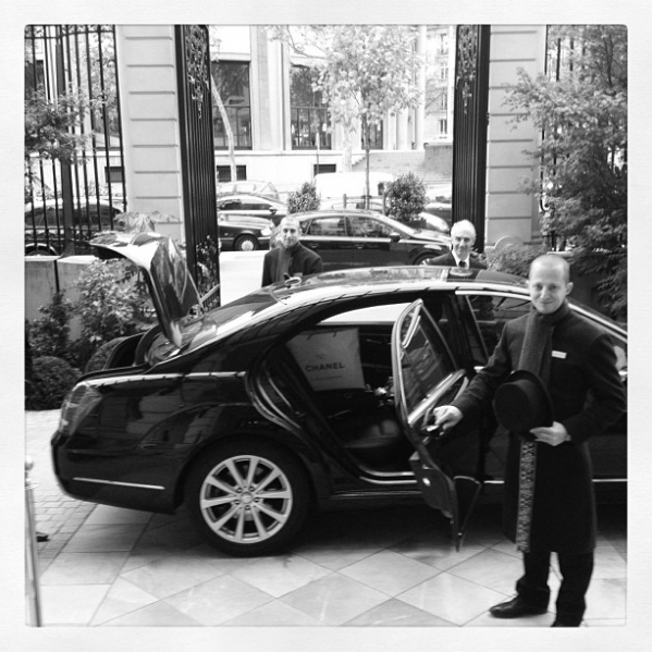 Instagram Paris house car Shangri-la