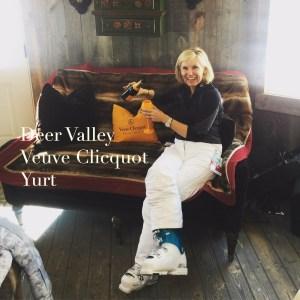 deer valley veuve clicquot yurt